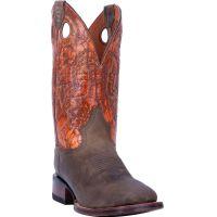 Dan Post Deuce Leather Mens Comfort Square Toe Western Boots DP4560