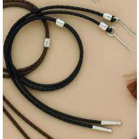 M&F Black Nylon Stampede String 02966-01