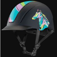 Troxel Pop Art Pony Spirit Riding Helmet 04-537
