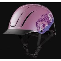 Troxel Pink Dreamscape Spirit Riding Helmet 04-538