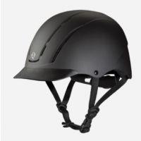 Troxel Black Spirit Kids Riding Helment 04-551
