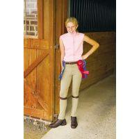 10009-01 Tan JPC Kids Cotton Pull On Jodhpur Pants