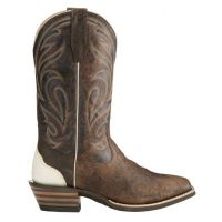 Ariat Fire Creek Branding Iron Mens Square Toe Western Boots 10021676