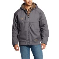 Ariat Rebar Gray DuraCanvas Mens Jacket 10023919