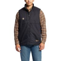 Ariat Black Rebar DuraCanvas Vest 10023933
