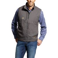 Ariat Rebar Gray DuraCanvas Vest 10023934