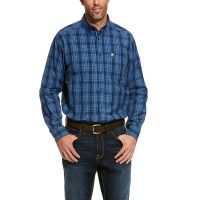 Ariat Dress Blue Pro Series Thorne Classic Fit Mens Shirt 10028202