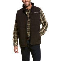 Ariat Men's Espresso Heather Crius Insulated Vest 10028380