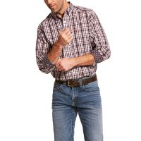 Ariat Multi Color Wrinkle Free Clarkston Mens Classic Fit Long Sleeve Shirt 10028732
