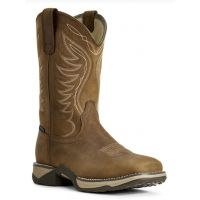 Ariat Brown Anthem Waterproof Womens Western Square Toe Boots 10029528