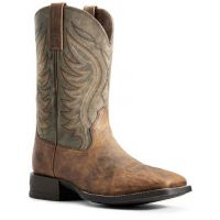 Ariat Men's Sorrel Crunch Amos Western Boot 10029688