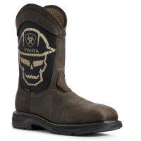 Ariat Mens Iron Coffee Workhog XT VentTEK Work Boots 10031507