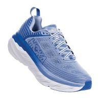 Hoka One Serenity/Palace Blue Womens's Bondi 6 Comfort Athletic Shoe 1019270/2