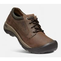 Keen Men's Chocolate Brown/Black Olive Austin Casual Waterproof Shoe 1019511