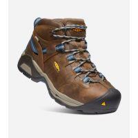 Keen Brown/Blue Detrout XT Waterproof Mens Steel Toe Work Boots 1020086