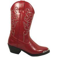 Smoky Mountain 1033 Red/Toe Rand  Kids Western 1033