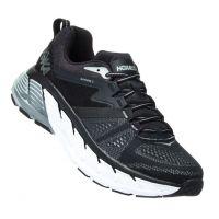 Hoka Black/Wrought Iron Gaviota 2 Mens Running Comfort Shoes 1099717