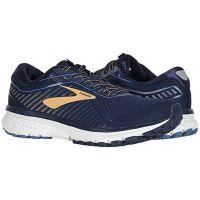 Brooks Navy/Deep Water/Gold Ghost 12 Mens Comfort Running Shoes 110316-489