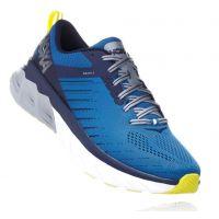 Hoka Blue Sapphire/Mood Indigo Arahi 3 Cushioned Mens Wide Athletic Running Shoes 1104098