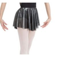Capezio Gray Lunar Pull On Womens Skirt 11552W