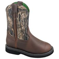 Smoky Mountain Wellington  Brown Camo Kids Western 1186C