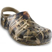 Crocs Khaki Camouflage Classic Realtree V2 Mens Clogs 12132-260