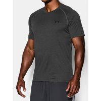 Under Armour Carbon Heather/Black Mens T-Shirt 1228539-90