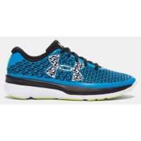 Under Armour Clutchfit Run Blue Fabric Kids Athletic 1281104-987