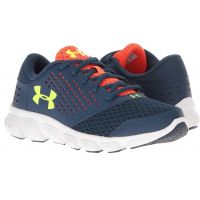 Under Armour Rave RN Navy/Red/Yellow Mesh Kids Athletic 1285434-997