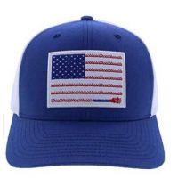 Hooey Blue Men's Liberty Roper Flag Patch Cap 1905T