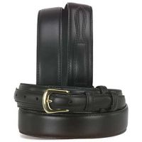 2056 Black 1 3/8-in Basic Western Ranger 3D Mens Belts