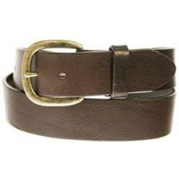 232BR Dark Brown 1 1/2 in Basic Justin Mens Work Belt