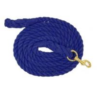 248120 Navy 10-ft Cotton Lead