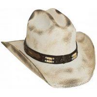 2813 Lockhart Natural Straw Bullhide by Montecarlo Kids Western Cowboy Hats
