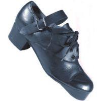 391 Black Irish Hard Step River Tap Shoes (Sizes 3-11)