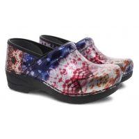 Dansko XP 2.0 Metallic Tie Dye Patent Womens Comfort Shoes 3950-270202