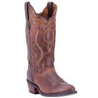 Dan Post Laredo Brown Top Stitch Mens Western Boots 68439