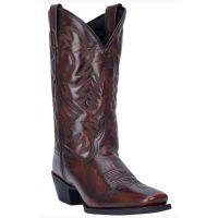 Dan Post Tan Lawton Mens Square Toe Western Boots 68444