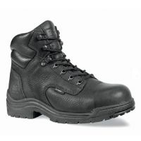 Black Leather TITAN Steel Toe 6in Timberland Pro Womens Work Boots