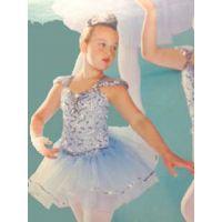 8203A Mystic Blue With Short Tutu Recital Costume