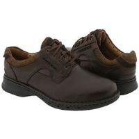 Clarks Unstructured Unravel Oxford Brown Leather Mens Casual 85016
