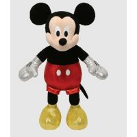 TY Black Mickey Mouse w/Sparkle 90158