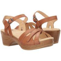 Dansko Season Camel Full Grain Womens Comfort Sandals 9849-982200