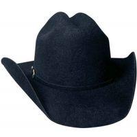 3050 Futurity Black Felt Monte Carlo Kids Western Cowboy Hats