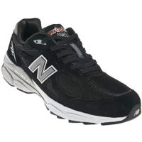 New Balance M990 Black Suede Mens Running M990BK3