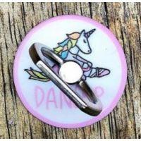 CJ Merchantile Miss Unicorn Ballerina Dnacer Print Cell Phone Ring/Stand A-G440