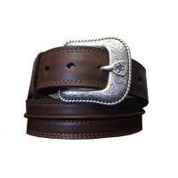 Ariat Medium Brown Rowdy Mens Belt A1019444