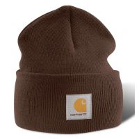 A18DKB Dark Brown Acrylic Watch Carhartt Hat