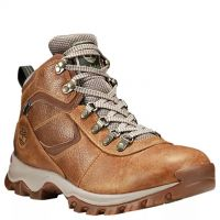 Timberland Light Brown Full-Grain Mt. Maddsen Mid Waterproof Mens Hiking Boots TB0A1J1N230