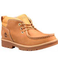 Timberland Wheat Nubuck Newtonbrook Moc Toe Mens Chukka Boots TB0A28EX231